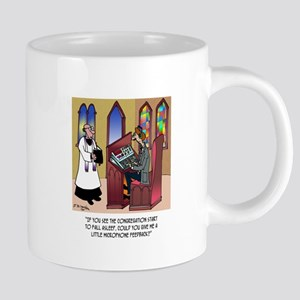 Sleeping in Church 20 oz Ceramic Mega Mug